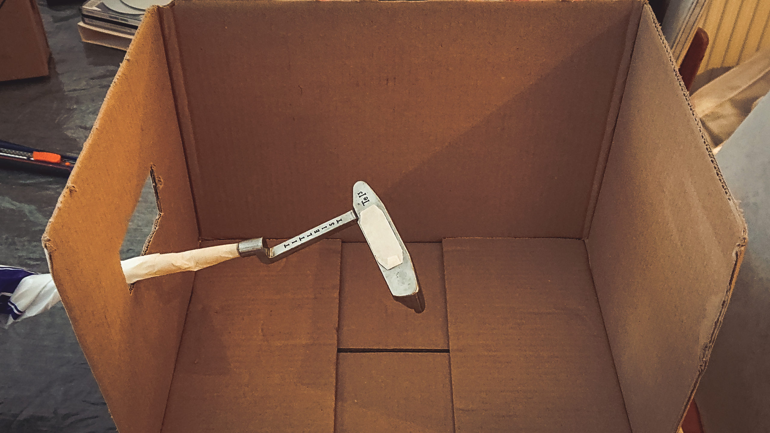 scotty cameron caisse de peinture